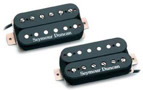 Seymour Duncan Humbucker SH-4 & SH-2 Hot Rodded Set Bridge & Neck