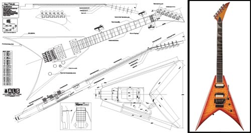 jackson king v� electric guitar plan - buy any 2 get 1 free!